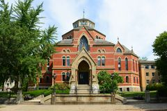 Robinson Hall Brown University, försyn, USA arkivfoton