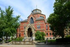 Robinson Hall Brown University, försyn, USA arkivbild