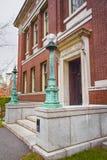 Robinson Hall dans la cour de Harvard à l'Université d'Harvard à Cambridge Photographie stock libre de droits