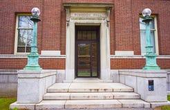 Robinson Hall dans la cour de Harvard de l'Université d'Harvard à Cambridge Images stock