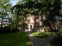 Robinson Hall, yard de Harvard, Université d'Harvard, Cambridge, le Massachusetts, Etats-Unis Image stock