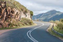 Robinson Pass mellan Mosselbay och Oudtshoorn arkivfoto