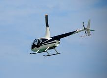 Robinson R-22 light helicopter Royalty Free Stock Photos