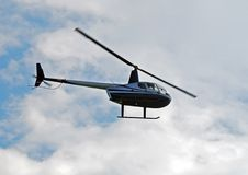 Robinson r-44 helikopter Royalty-vrije Stock Afbeelding