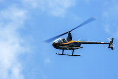 The Robinson R44 light utility helicopter stock photography