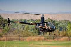 Robinson R22 BETA N482SH Royalty Free Stock Photos
