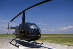 Robinson R44. A four seater light duty, helicopter Stock Images