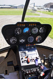 Robinson R44 - Instrument Panel. Instrument Panel for the Robinson R44 Helicopter Royalty Free Stock Photo