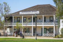 Robinson Rose Visitor Information Center en San Diego Old Town - SAN DIEGO - CALIFORNIA - 21 de abril de 2017 Fotos de archivo libres de regalías