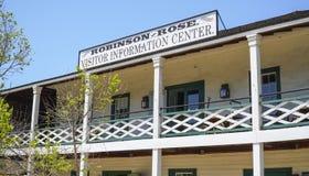 Robinson Rose Visitor Information Center en San Diego Old Town - SAN DIEGO - CALIFORNIA - 21 de abril de 2017 Foto de archivo libre de regalías