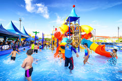 Robinson water park Royalty Free Stock Photos