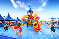 Robinson water park Stock Images