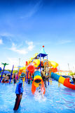 Robinson water park Royalty Free Stock Photo