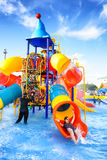 Robinson water park. Chiang Mai Thailand - September 17, 2016 : Robinson water park, Unidentified kids are fun to play on outdoor water park at Central Plaza Stock Photos