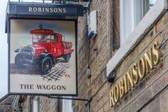 Robinsons de Wagen stock afbeeldingen