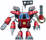 Robo猫 库存图片