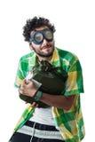Robo del gas Fotografía de archivo libre de regalías