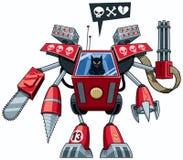 Robo-gato stock de ilustración