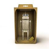 Robo leksak Royaltyfri Bild
