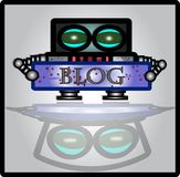 Robobloger Royalty Free Stock Photo