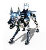 RoboDogverdediger Stock Foto