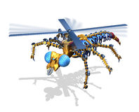 RoboFly Royalty Free Stock Image