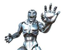 RoboMonster - Technologie außer Rand und Band geraten! Lizenzfreie Stockfotos