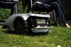 Robomower 图库摄影