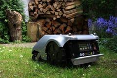 Robomower 免版税库存图片