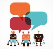 Robotów charaktery i ilustracji
