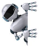 Robot. Fun 3d robot, 3d generated picture vector illustration
