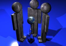 Robot Immagine Stock
