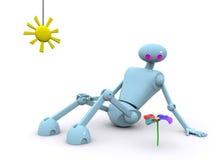 Robot 2 vector illustratie