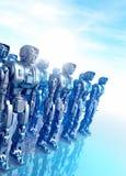 Robot Fotografie Stock