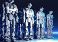 Robot Fotografie Stock Libere da Diritti