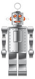 Robot. A classic robot that can look like a toy but could also be useful for ... so many things Royalty Free Stock Image