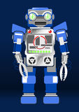 Robot. Vector illustration of a robot Stock Images
