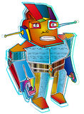 robot Royalty-vrije Stock Foto's