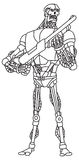 Robot libre illustration