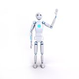 Robot 6 Royalty-vrije Illustratie