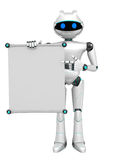 Robot stock de ilustración