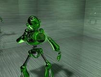 Robot. 3d render of a robot Stock Photos