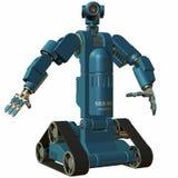 Robot. 3 D Render of an Robot Stock Images