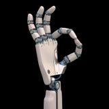 Robot aceptable Fotos de archivo