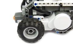 Robot in actie - onderwijs met technologie Stock Foto