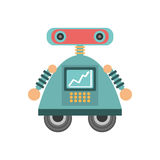 robot android automation icon Royalty Free Stock Photo