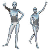 Robot Android Male Royalty Free Stock Images