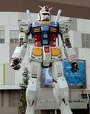 Robot animado japonés gigante, el Gundam RX78 Imágenes de archivo libres de regalías