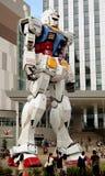 Robot animato giapponese gigante, il Gundam RX78 fotografia stock libera da diritti