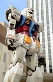 Robot animato giapponese gigante, il Gundam RX78 immagini stock